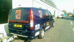 51 racing van rear